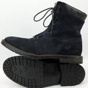 ALLSAINTS Ariel Distressed Leather Combat Boots